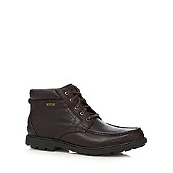 Rockport - Dark brown ridge boots