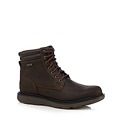 Rockport - Dark brown ankle builders boots