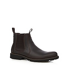 Rockport - Dark brown chelsea boots