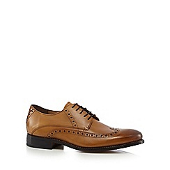 Jeff Banks - Tan wingtip brogues
