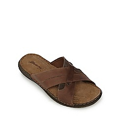 Mantaray - Brown cross over mules