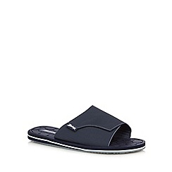 Mantaray - Navy rip tape sandals