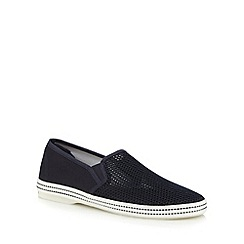 Red Herring - Navy mesh espadrille shoes