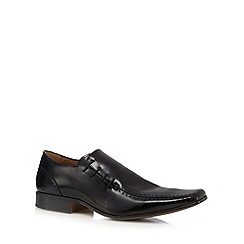 Jeff Banks - Black prince side lace shoes