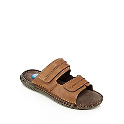 Henley Comfort - Tan 'Airsoft' sandals