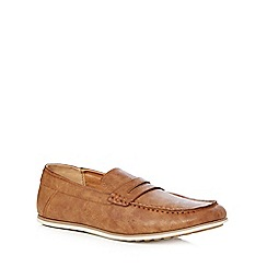 Red Herring - Tan 'Alberti' saddle loafers