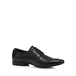 The Collection - Black Derby shoes