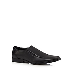 The Collection - Black  slip-on shoes