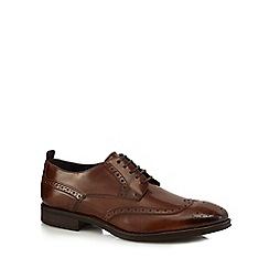Hammond & Co. by Patrick Grant - Tan lace up Derby brogues