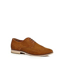 Red Herring - Tan suede brogues