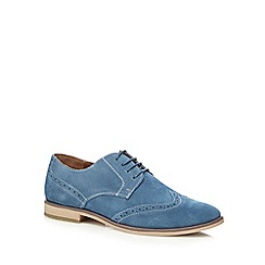 Red Herring - Light blue suede brogues