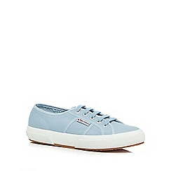 Superga - Turquoise 'Cotu' lace up shoes