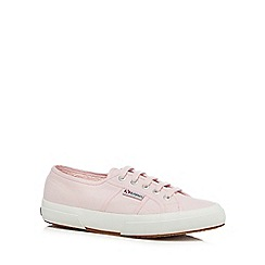 Superga - Pink 'Cotu' lace up shoes