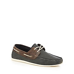 Red Herring - Dark green boat shoe