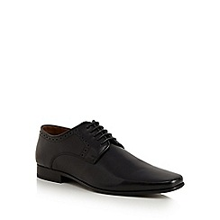 Jeff Banks - Black leather shoes