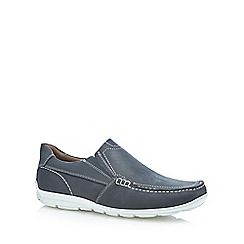 Henley Comfort - Navy 'Wade' slip on shoes