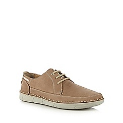 Henley Comfort - Taupe casual Derby shoes