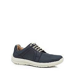 Henley Comfort - Blue suede trainers