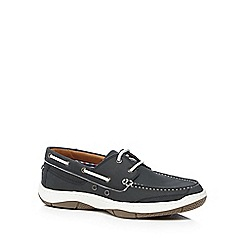 Maine New England - Grey 'Roux 2' boat shoes