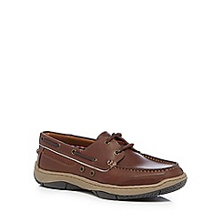 Maine New England - Brown 'Roux 2' boat shoes