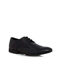 Red Herring - Black leather lace up shoes