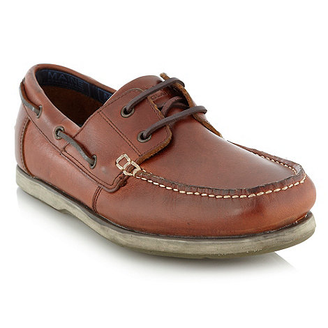 Maine New England - Tan deck shoes