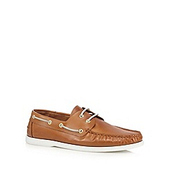Hammond & Co. by Patrick Grant - Tan 'Yale' boat shoes