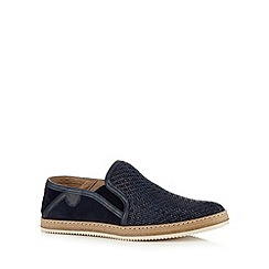 Hammond & Co. by Patrick Grant - Navy 'Francis 2' slip on shoes