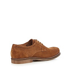 J by Jasper Conran - Tan suede lace up shoes