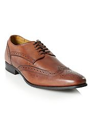 Brown Airsoft lace up brogues