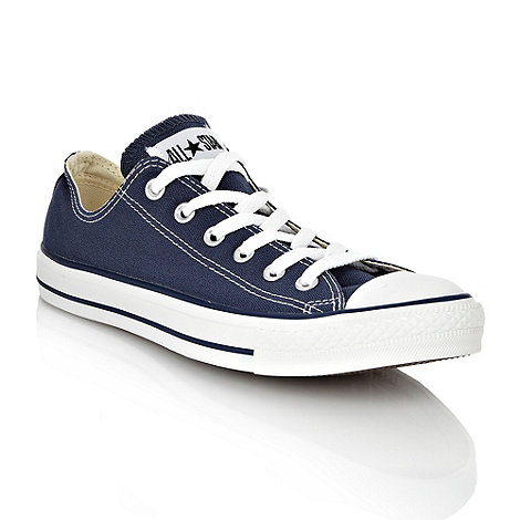 Converse - Converse Navy canvas trainers