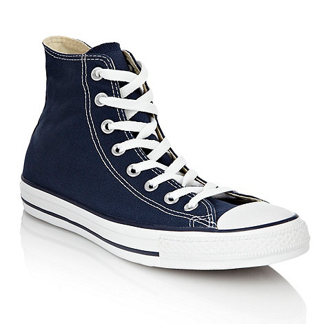 Converse - Navy classic hi top trainers