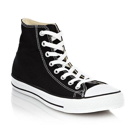 Converse - Black classic hi top trainers