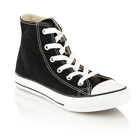 Converse - Black +Core+ high top trainers