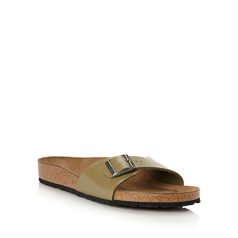 Birkenstock - Khaki +Madrid+ flip flops