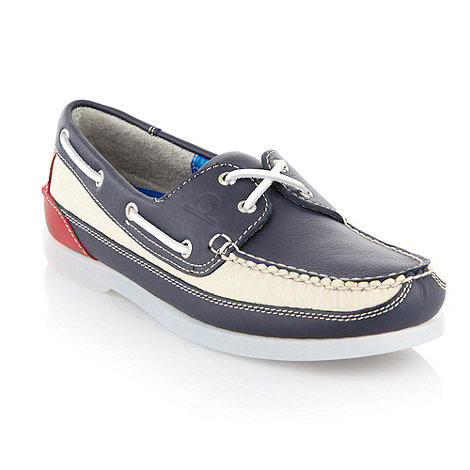 Chatham Marine - Navy G2 laced deck shoes