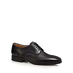 Jeff Banks - Black wingtip brogue shoes
