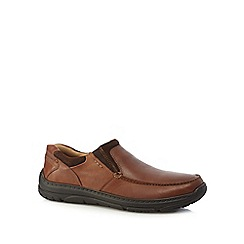 Henley Comfort - Tan casual slip-on shoes
