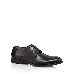 Henley Comfort - Black leather Derby shoes