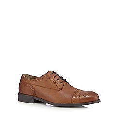 Henley Comfort - Tan leather brogues