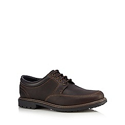 Maine New England - Brown leather lace up shoes