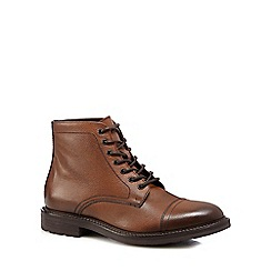 RJR.John Rocha - Brown 'Lambay' tumbled leather boots