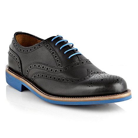RJR.John Rocha - Designer black leather brogue shoes