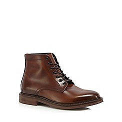 Hammond & Co. by Patrick Grant - Brown leather lace up boots