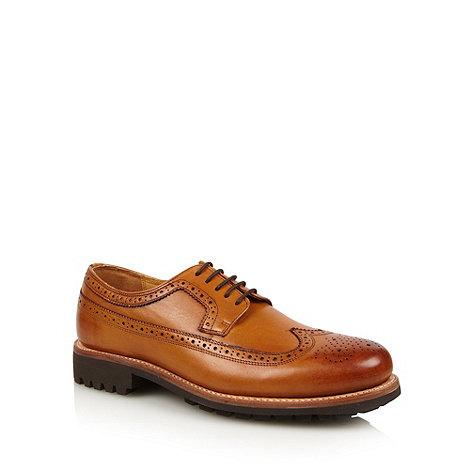 RJR.John Rocha - Designer tan chunky leather brogues