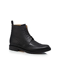 RJR.John Rocha - Black leather brogue boots