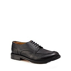 RJR.John Rocha - Black pebbled Derby shoes