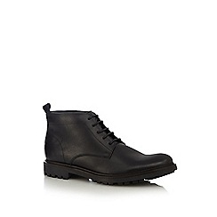 RJR.John Rocha - Black cleated Chukka boots