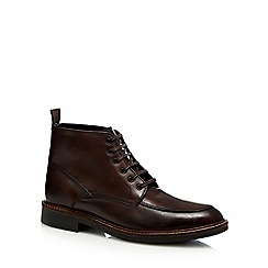 Hammond & Co. by Patrick Grant - Dark brown leather lace up boots