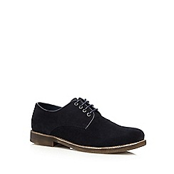 Red Herring - Black 'Atomic' casual Derby shoes